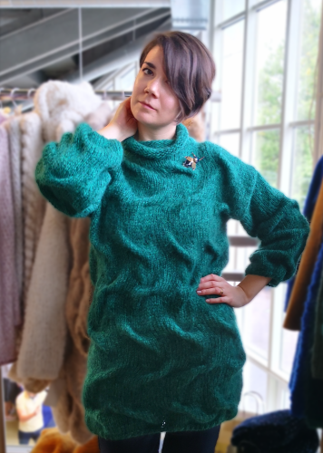 Emerald Waves - Sweater