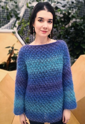 NEW! Sea Mandala - Sweater