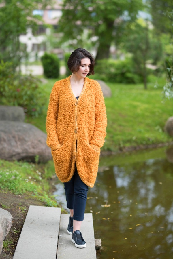 Golden Oasis - Cardigan